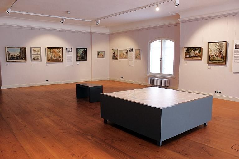 Ausstellung Jevers stille Winkel - Arthur Eden-Sillenstede malt seine Stadt